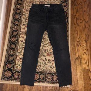 Madewelll jeans black distressed Size 27p
